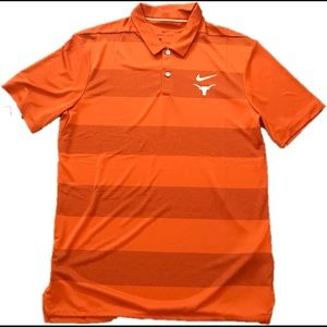 *NWT* Mens Texas Longhorn Nike Polo